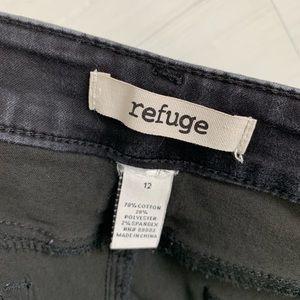 refuge Jeans - Refuge Black Skinny Slim Leg Stretchy Jeans